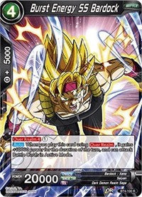 Burst Energy SS Bardock - BT4-100