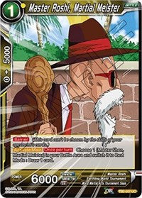 Master Roshi, Martial Meister - TB2-057