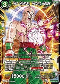 Tien Shinhan, Trading Moves - TB2-043 FOIL VERSION