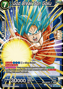 God Break Son Goku - BT1-031