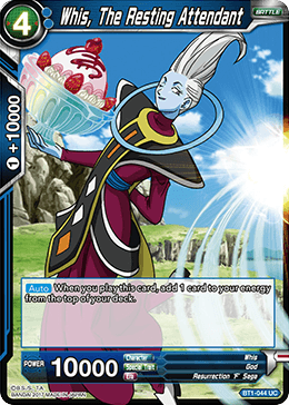 Whis the Resting Attendant - BT1-044