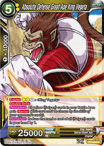 Absolute Defense Great Ape King Vegeta - BT3-092