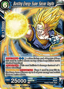 Bursting Energy Super Saiyan Vegito - P-014 PROMO
