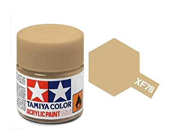 Paint Tamiya XF78 Wooden Deck Tan Acrylic (1/3 oz)