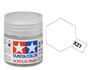 Paint Tamiya X21 Flat Base Acrylic (1/3 oz)
