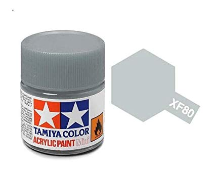 Paint Tamiya XF80 Royal Light Grey Acrylic (1/3 oz)