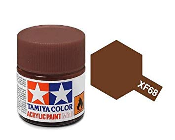 Paint Tamiya XF68 NATO Brown Acrylic (1/3 oz)
