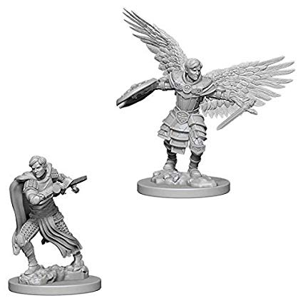 Dungeons & Dragons Aasimar Fighter Figure - DND Mini