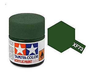 Paint Tamiya XF73 Dark Green (JGSDF) Acrylic (1/3 oz)