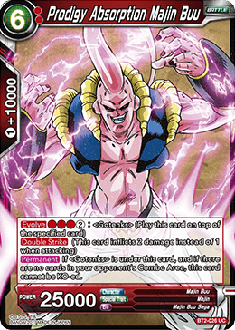 Prodigy Absorption Majin Buu - BT2-026