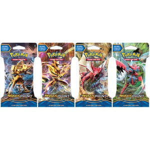 Pokemon Sealed Break Point Blister Pack