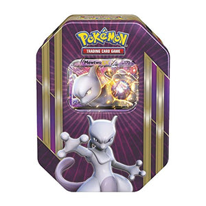 Pokemon Sealed Mewtwo EX Tin