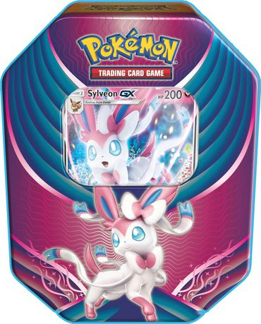 Pokemon Eeveelution 2018 Tin SYLVEON - Pokemon Sealed