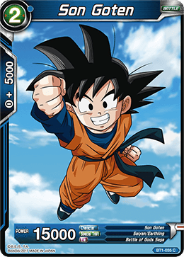Son Goten - BT1-035