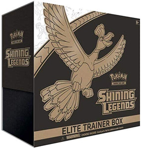 Shining Legends Elite Trainer Box - Pokemon Sealed