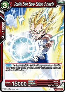 Double Shot Super Saiyan 2 Vegeta - BT2-010