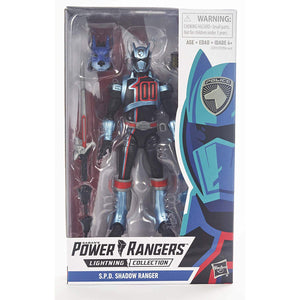 Lightning Collection S.P.D Shadow Ranger Figure - Power Rangers Sealed