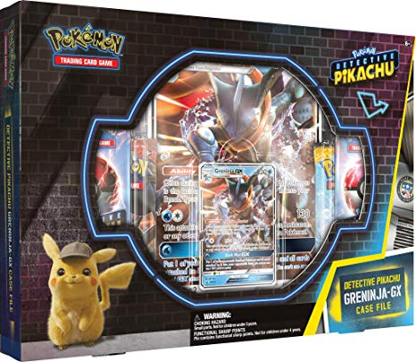 Pokemon Detective Pikachu - Greninja GX Case File - Pokemon Sealed