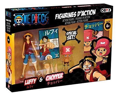 One Piece Luffy & Chopper Special Set Action Figures