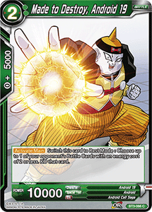 Made to Destroy Android 19 - BT3-066