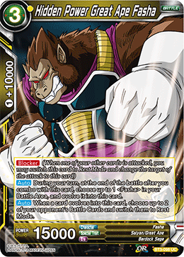 Hidden Power Great Ape Fasha - BT3-098