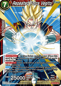 Repeated Force Vegito - BT2-012