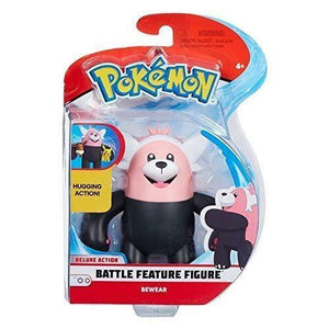 Pokemon Deluxe Battle Feature Bewear Figure