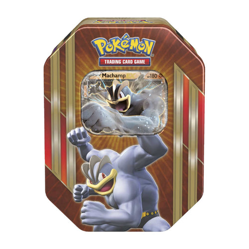 Pokemon Sealed Machamp EX Tin