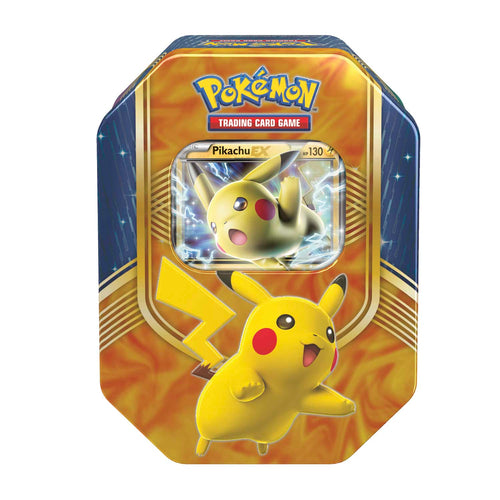 Pokemon Sealed Pikachu EX Tin