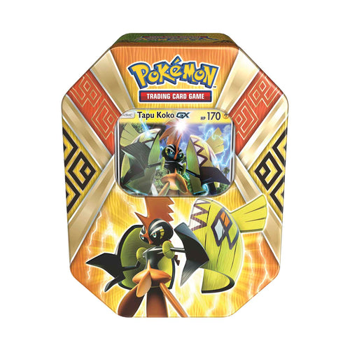 Pokemon Sealed Tapu Koko GX Tin