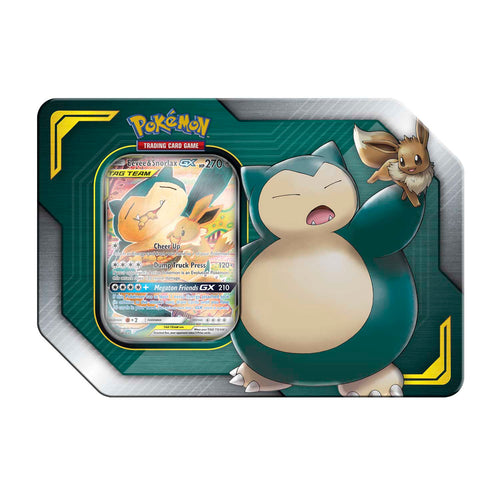 Pokemon Team-Up Tin EEVEE & SNORLAX - Pokemon Sealed