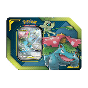 Pokemon Team-Up Tin CELEBI & VENUSAUR - Pokemon Sealed