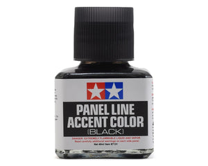 Paint Tamiya Panel Line Accent Color Black 40ml