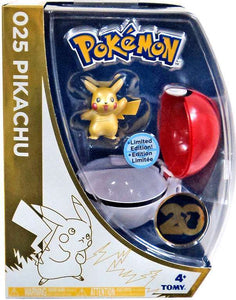 Pokemon Pikachu W/Pokeball 20th