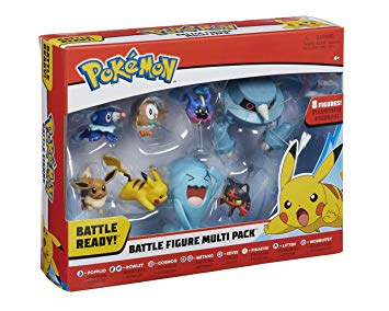 Pokemon Battle figure Multipak