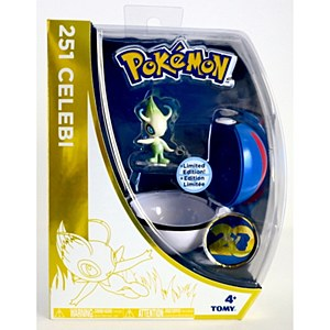 Pokemon Celebi w/Pokeball 20th