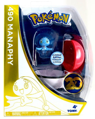 Pokemon Manaphy w/Pokeball 20th