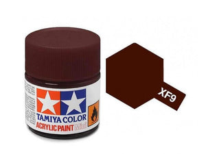 Paint Tamiya XF9 Hull Red Acrylic (1/3 oz)