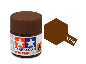 Paint Tamiya XF64 Red Brown Acrylic (1/3 oz)