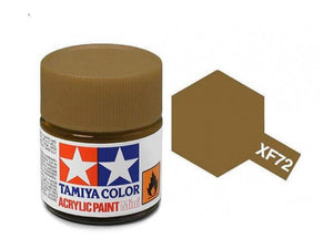 Paint Tamiya XF72 Brown (JGSDF) Acrylic (1/3 oz)