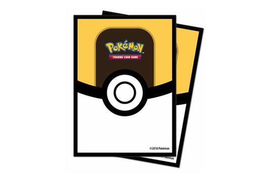 Official Pokemon Ultra Pro Sleeves Ultraball Standard Size - TCG Accessories
