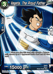 Vegeta The Proud Father - BT2-041