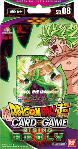 Dragon Ball Super Rising Broly Starter Deck - DBS Sealed