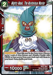 Mighty Mask The Mysterious Warrior - BT2-016