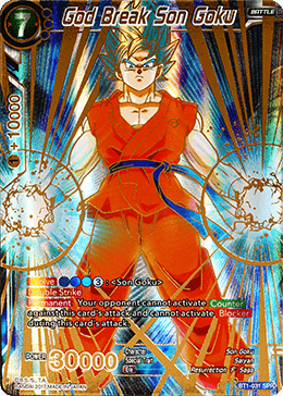 God Break Son Goku - BT1-031 SPR (Full Art)