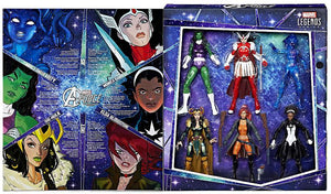 Marvel Legends A-Force Heroines Exclusive 6 Action Figure 6-Pack