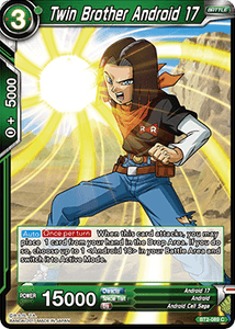Twin Brother Android 17 - BT2-089