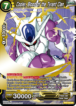 Cooler Blood of the Tyrant Clan - BT2-110