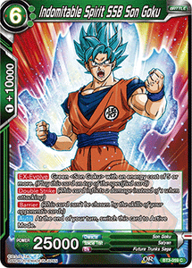 Indomitable Spirit SSB Son Goku - BT3-059
