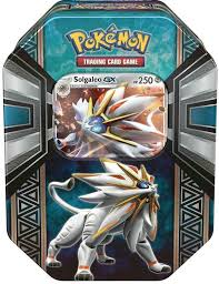 Pokemon Sealed Solgaleo GX Tin